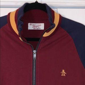 Original Penguin Zipper Jacket Redskins Colors 🔥